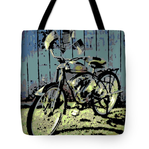 1947 Whizzer Tote Bag by George Pedro