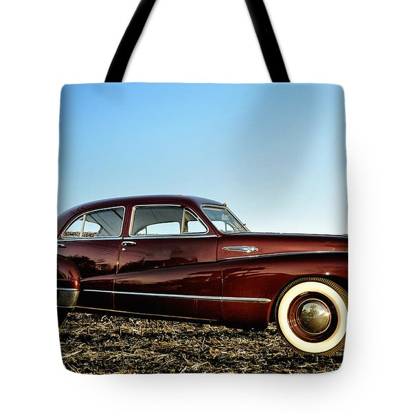 1948 Buick Eight Super Tote Bag by Bill Cannon