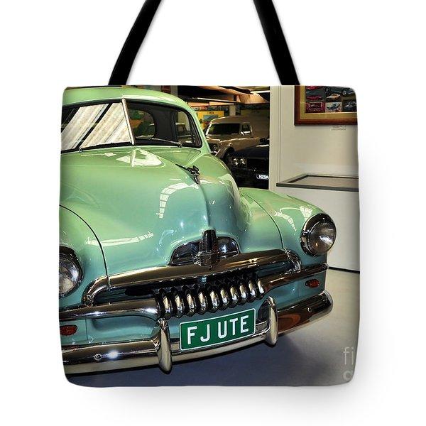 1953 Fj Holden Ute Tote Bag by Kaye Menner