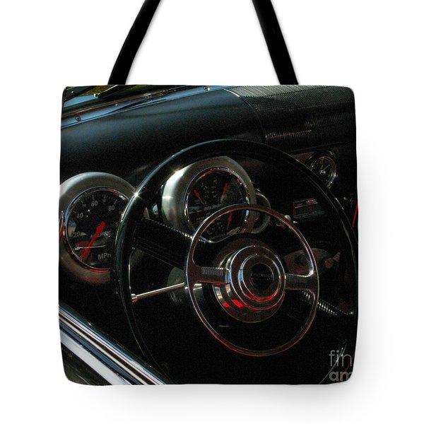 1953 Mercury Monterey Dash Tote Bag by Peter Piatt