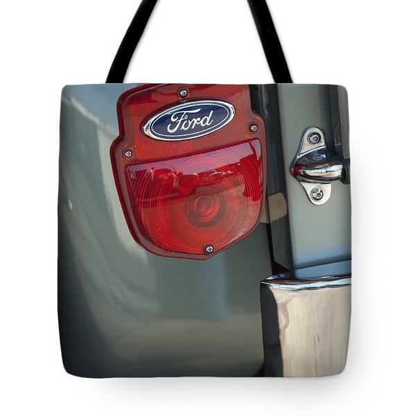 1956 Ford F-100 Truck Taillight Tote Bag by Jill Reger