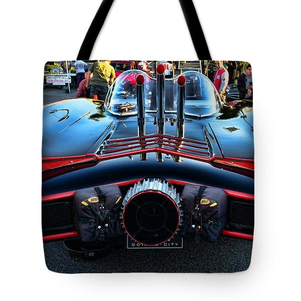 1960s Batmobile - 1 Tote Bag by Paul Ward
