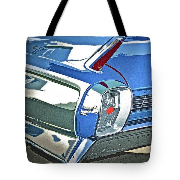 1962 Cadillac El Dorado Tote Bag by Gwyn Newcombe