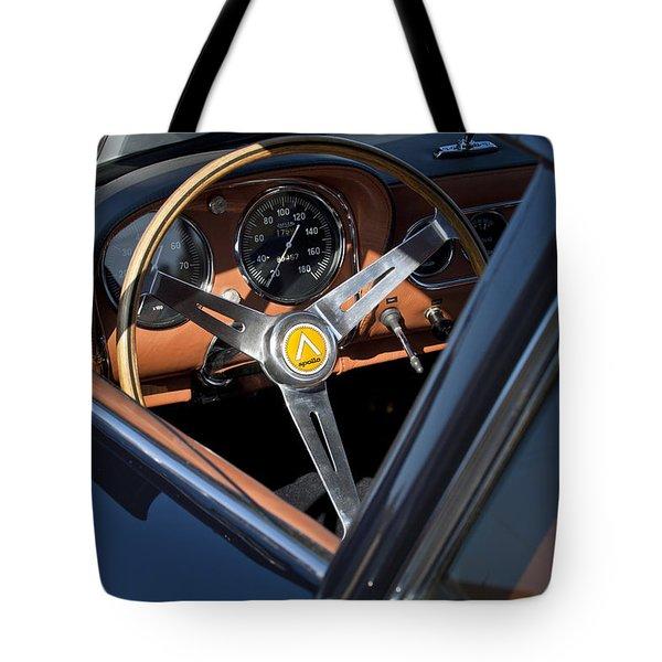 1963 Apollo Steering Wheel     Tote Bag by Jill Reger