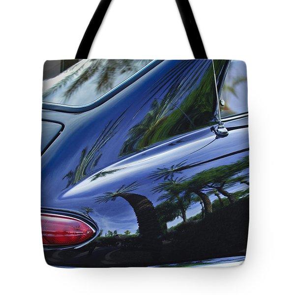 1963 Apollo Taillight Tote Bag by Jill Reger