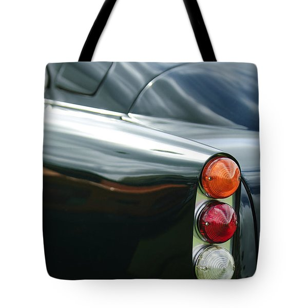1963 Aston Martin DB4 Series V Vantage GT Tail Light Tote Bag by Jill Reger