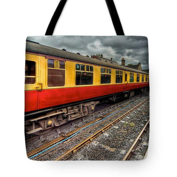 1963 Carriage  Tote Bag by Adrian Evans