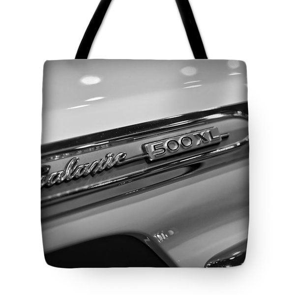 1964 Ford Galaxie 500 Xl Tote Bag by Gordon Dean II