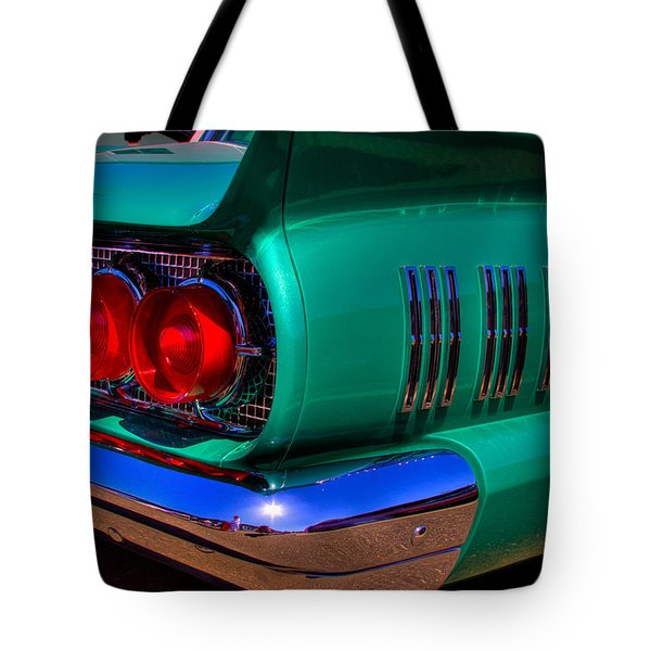1966 Ford Thunderbird Tote Bag by David Patterson