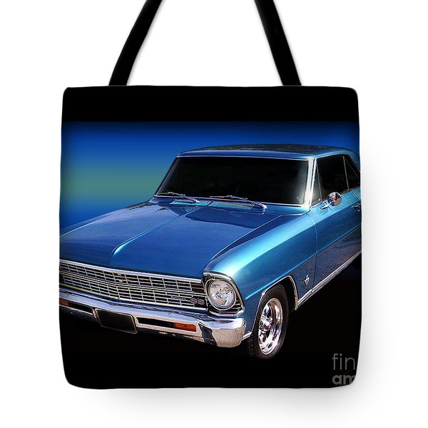 1967 Nova Ss Tote Bag by Peter Piatt