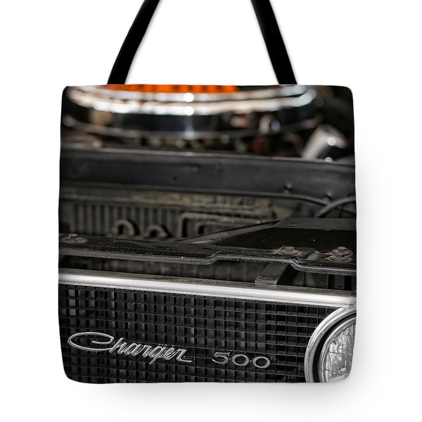 1969 Dodge Charger 500 Tote Bag by Gordon Dean II