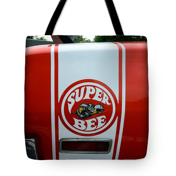 1970 Dodge Super Bee 1 Tote Bag by Paul Ward