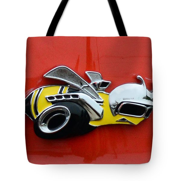 1970 Dodge Super Bee Emblem Tote Bag by Paul Ward