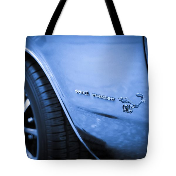 1971 Plymouth Road Runner Tote Bag by Gordon Dean II