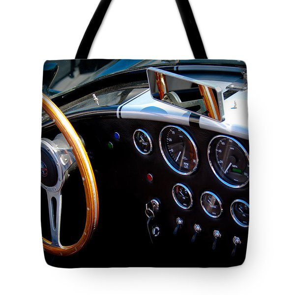 1966 Ford Ac Shelby Cobra 427 Tote Bag by David Patterson