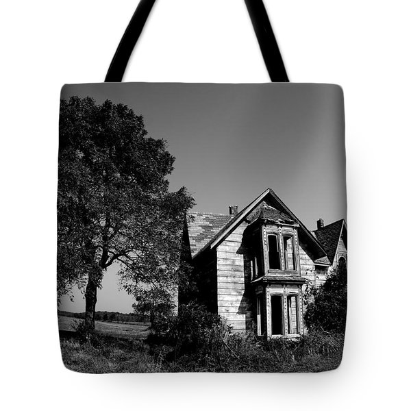 Abandoned House Tote Bag by Cale Best