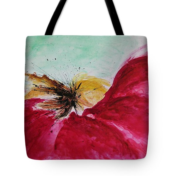 Abstract Flower  Tote Bag by Ismeta Gruenwald