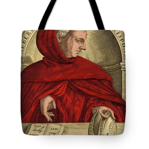 Albertus Magnus, Medieval Philosopher Tote Bag by Science Source