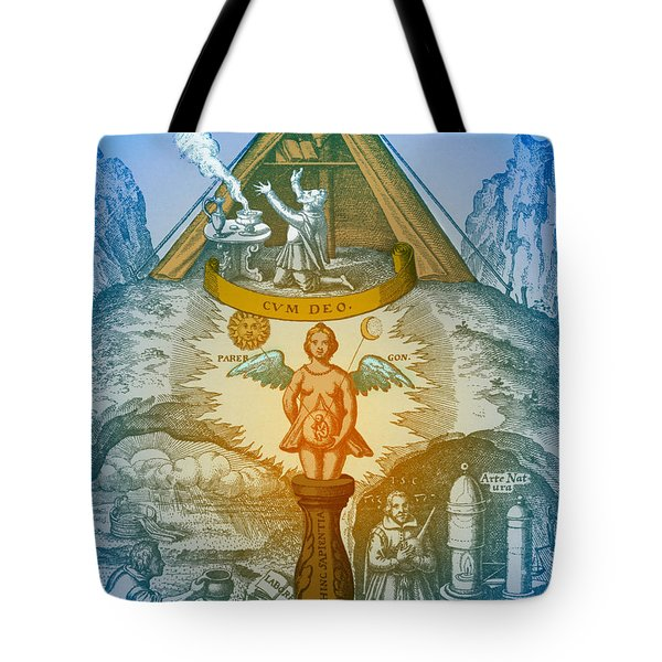 Alchemy Tote Bag by Science Source