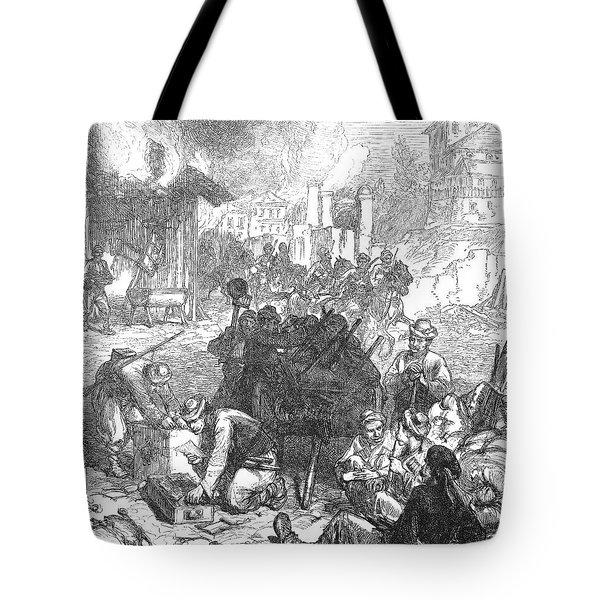 Balkan Insurgency, 1876 Tote Bag by Granger