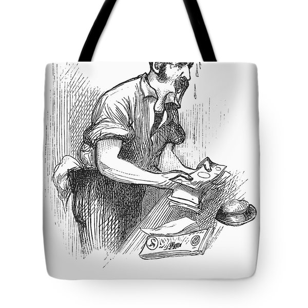 Bank Panic, 1873 Tote Bag by Granger