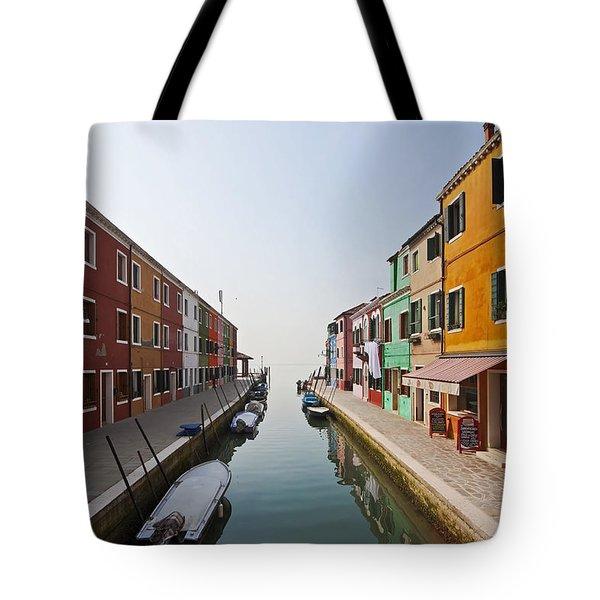 Burano - Venice - Italy Tote Bag by Joana Kruse