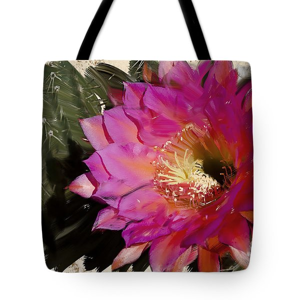 Cactus Flower  Tote Bag by Jim and Emily Bush