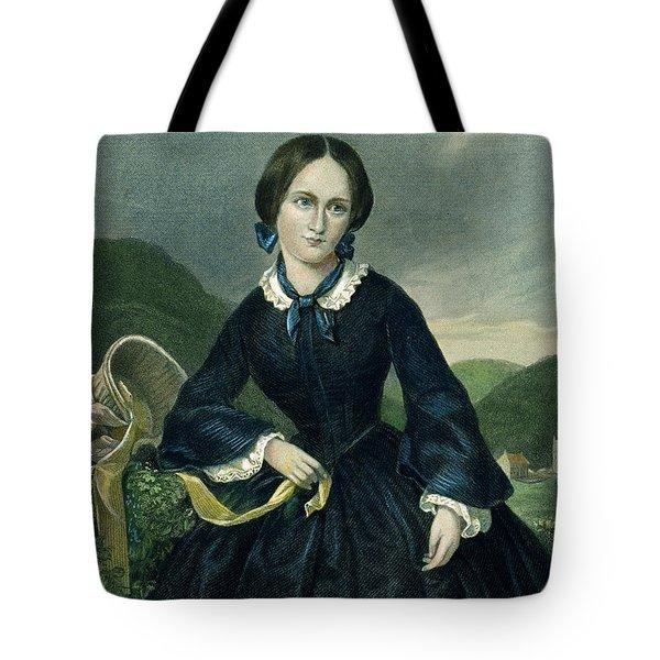 Charlotte Bront� Tote Bag by Granger