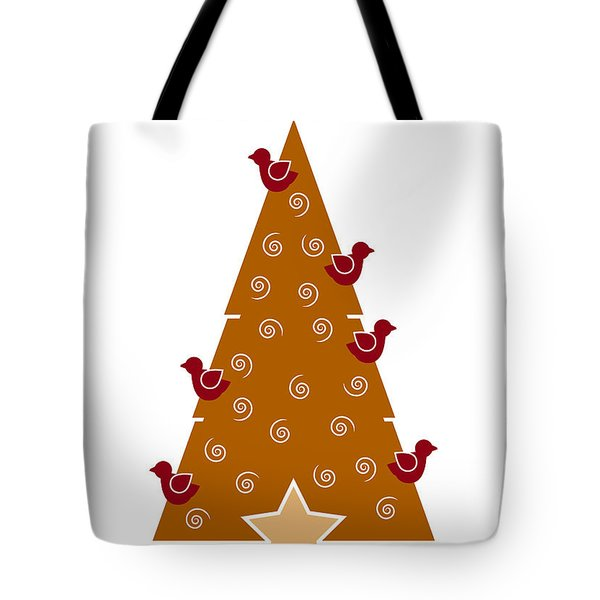 Christmas Tree Tote Bag by Frank Tschakert