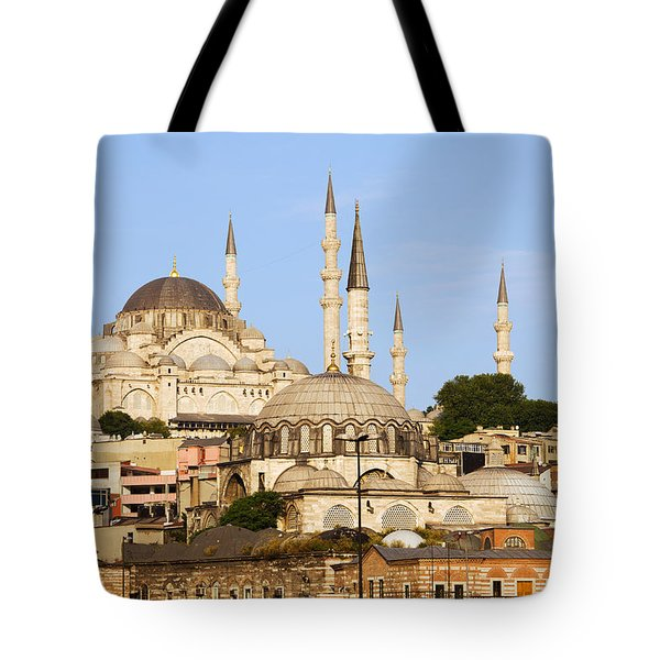 City Of Istanbul Tote Bag by Artur Bogacki