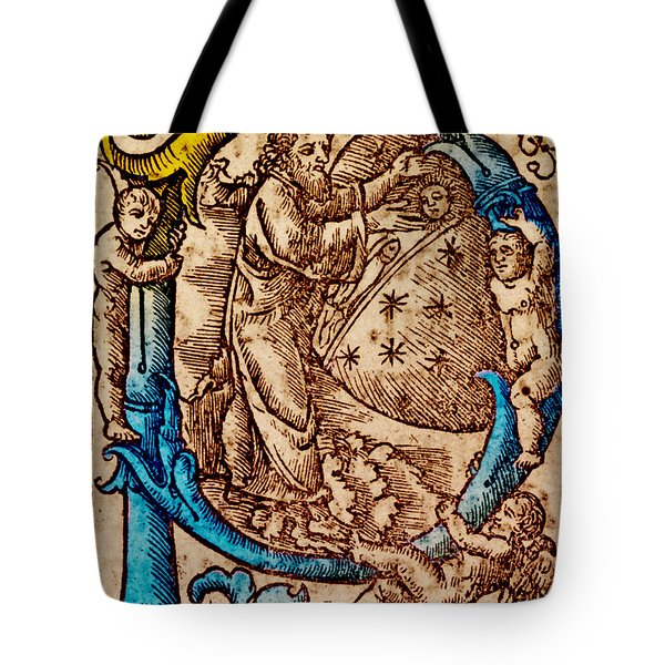 Creation, Giunta Pontificale, 1520 Tote Bag by Science Source