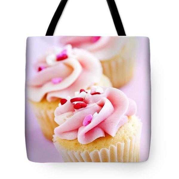 Cupcakes Tote Bag by Elena Elisseeva