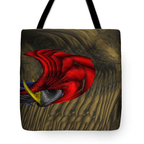 Deep Explorations Tote Bag by Christopher Gaston