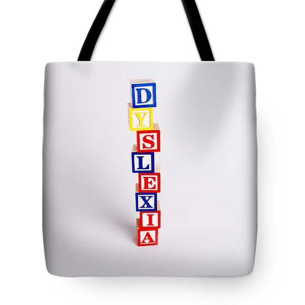 Dyslexia Tote Bag by Photo Researchers, Inc.