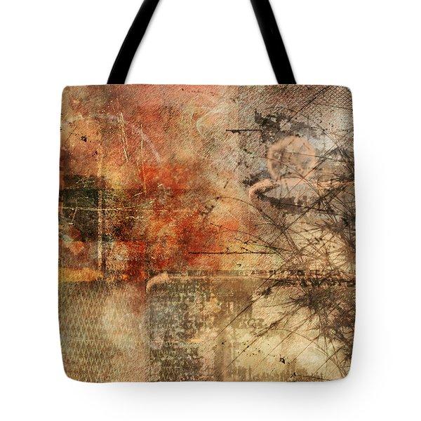 Entropy Tote Bag by Christopher Gaston