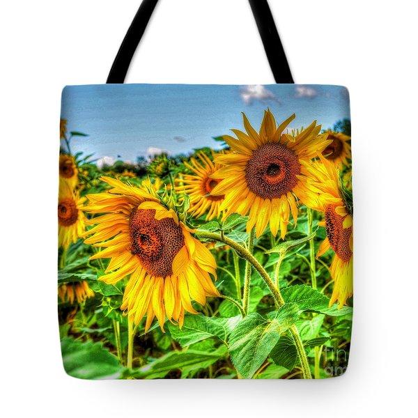 Field Of Dreams Tote Bag by Debbi Granruth