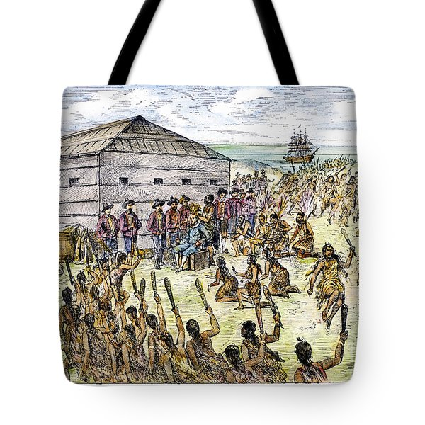 Francis Drake (1540?-1596) Tote Bag by Granger