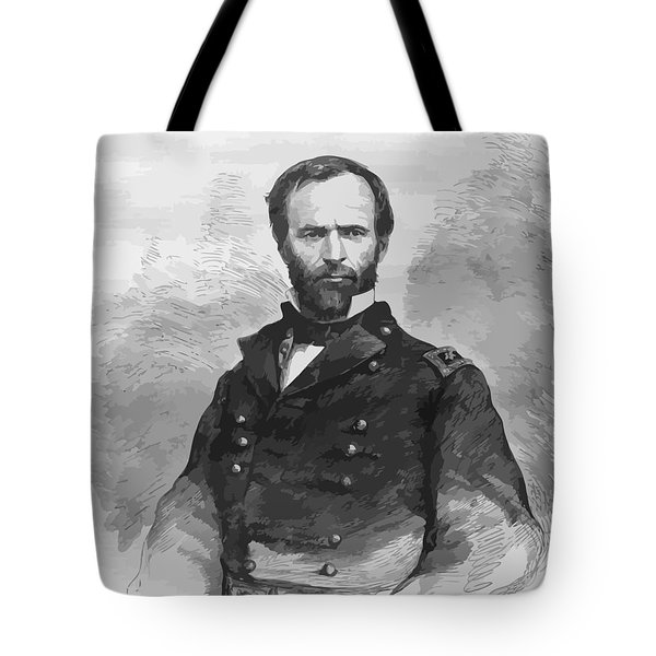 General Sherman Tote Bag by War Is Hell Store