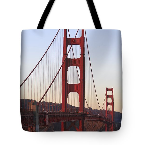 Golden Gate Bridge San Francisco Tote Bag by Stuart Westmorland
