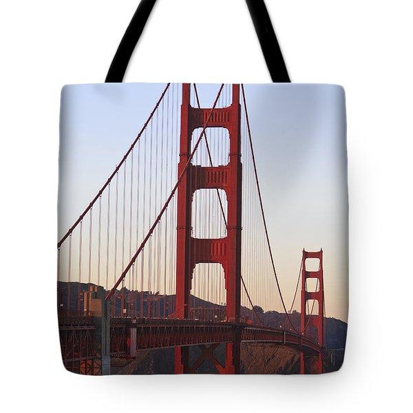Golden Gate Bridge San Francisco Tote Bag by Stuart Westmorland