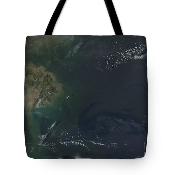 Gulf Oil Spill, April 2010 Tote Bag by NASA