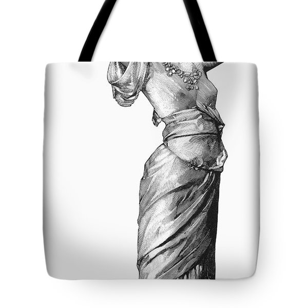 Harem Woman, 19th Century Tote Bag by Granger