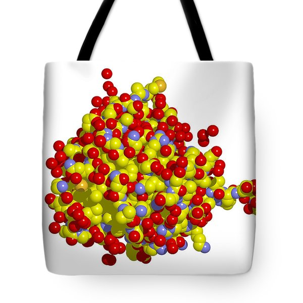 Heat Shock Protein 90 Tote Bag by Ted Kinsman