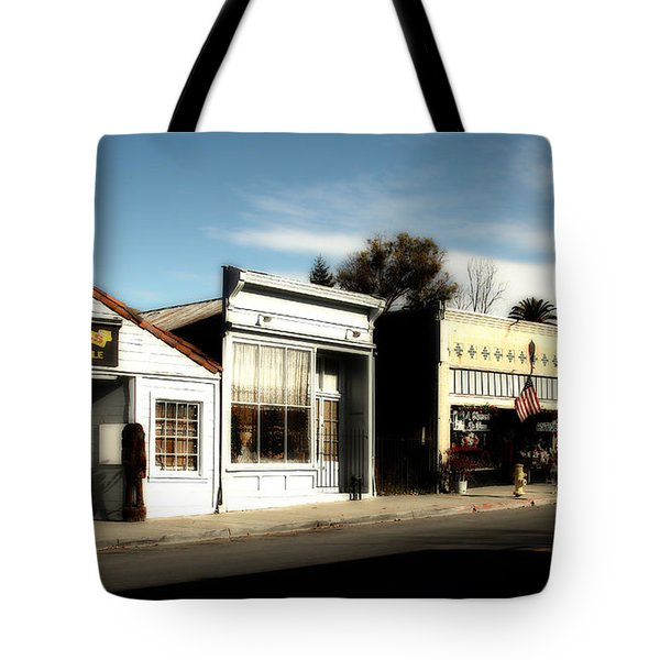 Historic Niles District In California Near Fremont . Main Street . Niles Boulevard . 7d10676 Tote Bag by Wingsdomain Art and Photography
