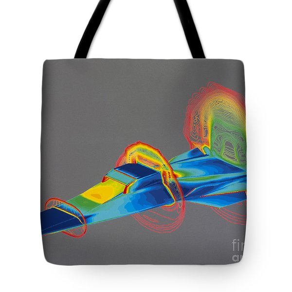 Hyperx Hypersonic Aircraft Tote Bag by Science Source