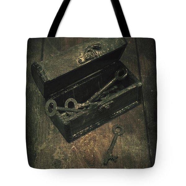 Keys Tote Bag by Joana Kruse