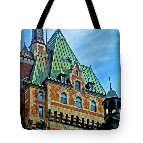 Le Chateau ... Tote Bag by Juergen Weiss