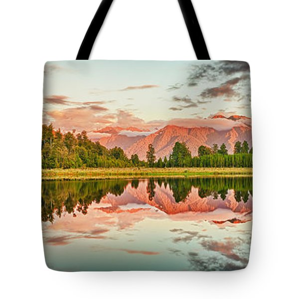 Matheson Lake Tote Bag by MotHaiBaPhoto Prints