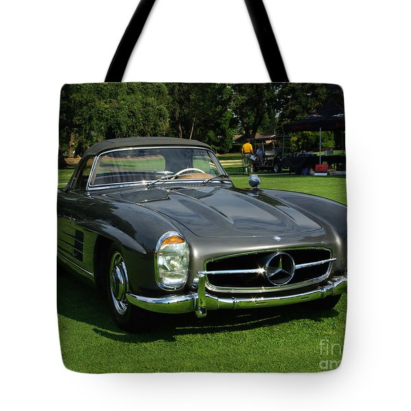 Mercedes 300 Sl Tote Bag by Peter Piatt