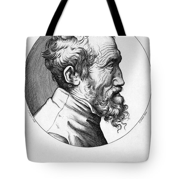 Michelangelo (1475-1564) Tote Bag by Granger